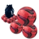 10 Malmo Footballs and Bag - Pink ..