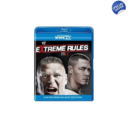 WWE Extreme Rules 2012 Blu-ray