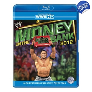 WWE Money In The Bank 2012 Blu-ray