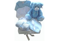 Luxury baby boy hamper