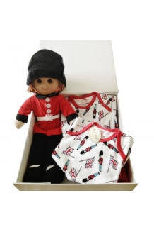 Soldier doll hamper