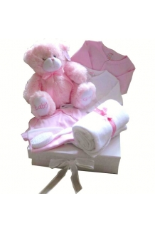 Luxury baby girl hamper