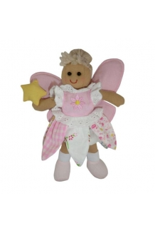 Mini fairy rag doll