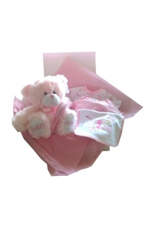 Baby girl hamper