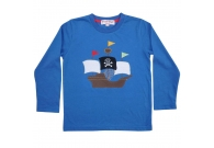 Pirate ship applique top