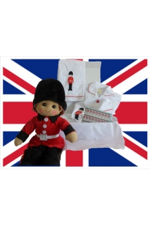 Soldier pyjamas hamper