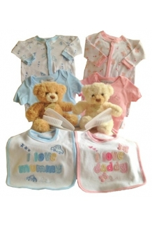 Twin baby gift hamper