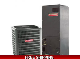 1.5 Ton 14 SEER Central Air Conditioner Split System by Goodman GSX14