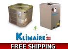 Klimaire 2.5 Ton 15 Seer Central Heat..