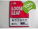 LOOSE LEAF PPL A5 100