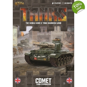 TANKS British Comet Exp..