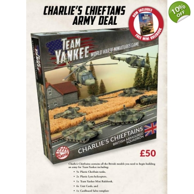 Charlie's Chieftains Plastic Army Deal
