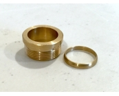 Drilled Brass Driver Pill & Brass Ring