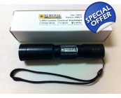 Survival Laser 1,000 Lumen Flashlight- 5 Mode
