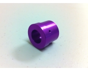 Violet Anodized Aluminum Heat Sink