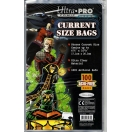 Ultra Pro Current Size Comic Bags Pack..