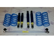 140 & 164 100mm lowering package - adjustable he..