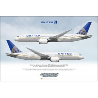 United Airlines Boeing 787-822 Dr..