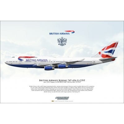 British Airways Boeing 747-436 G-CIVF