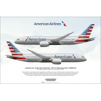 American Airlines Boeing 787-8 Dr..