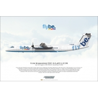 Flybe Bombardier DHC-8-Q-402 G-ECOR
