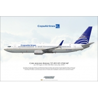 Copa Airlines Boeing 737-8V3 HP-1..