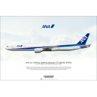 ANA All Nippon Airways Boeing 777..