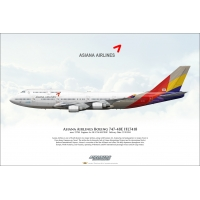 Asiana Airlines Boeing 747-48E HL..