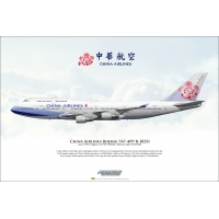 China Airlines Boeing 747-409 B-1..
