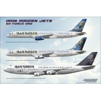 Iron Maiden Jets Ed Force One Boe..