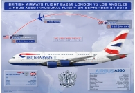 British Airways Airbus A380-841 LHR-LA..