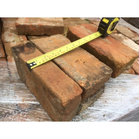 JUST IN - 17th CENTURY RECLAIMED HANDMADE BRICKS