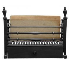 The Georgian Cast Iron Firebasket