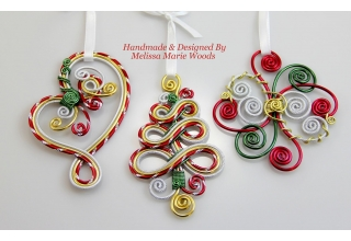 Happy Holidays Ornaments
