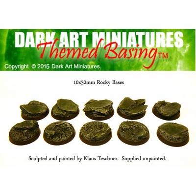 32mm Rocky bases 10