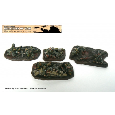 15mm WW2 German Casualt..