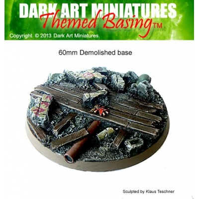 60mm Demolished base