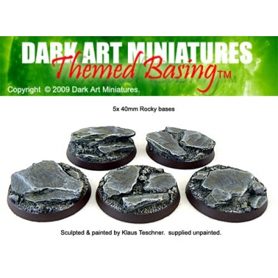 40mm Rocky bases