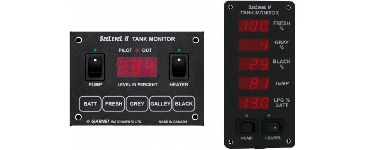 Rv Systems Monitor : Seelevel rv tank monitoring systems