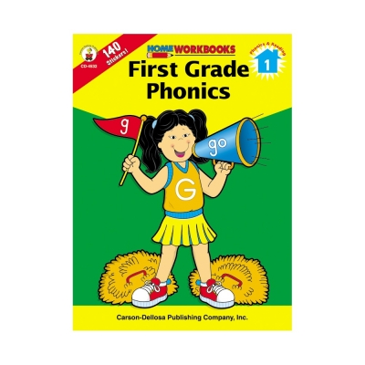 First Grade Phonics Workbook