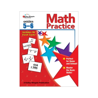 Math Practice Workbook Gr. 5–6