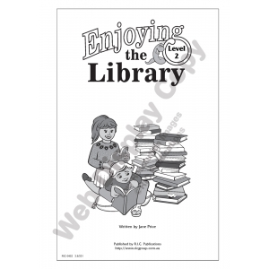 Enjoying The Library - ..
