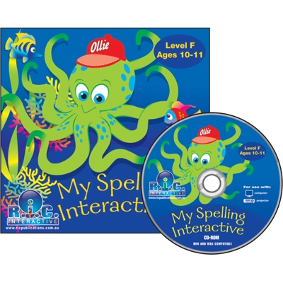 My Spelling Unlimited User F - Ages 10-11 years Interactiv..