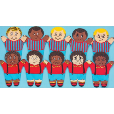 Problem solving 10 pc puppet set
