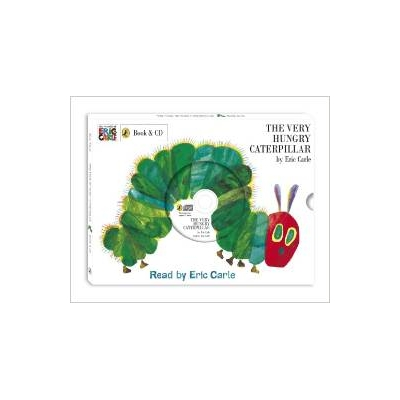 VERY HUNGRY CATERPILLAR, THE HC W/ CD [ERIC CARLE]
