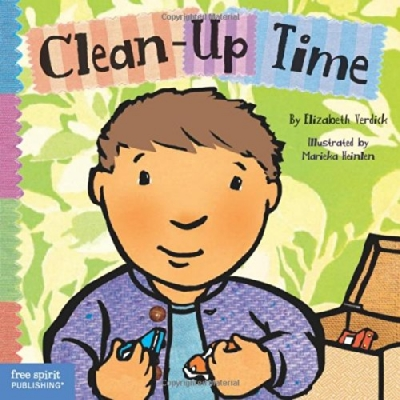 TODDLER TOOLS: CLEAN-UP TIME BOARD BOOK