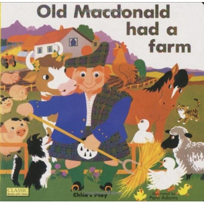 OLD MACDONALD HAD A FARM CLASSIC BOOKS WITH HOLES W/ CD