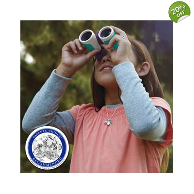 NANCY B'S SCIENCE CLUB™ BINOCULARS & WILDLIFE AC..