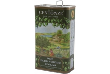 CENTONZE SICILIAN ORGANIC EXTRA VIRGIN OLIVE OIL 50cl TIN UK Only
