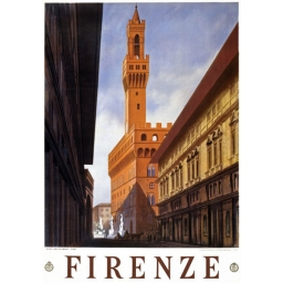 POSTER ART DECO FIRENZE..